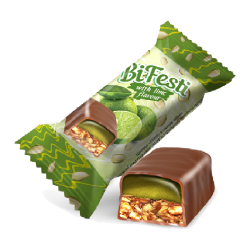 "#81446 ""LUKAS"" CANDIES 'BIFESTI' W/ LIME FLAVOR 8kg (8pc x 1kg)"