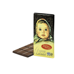 """Alenka"" Milk Chocolate  100gr/14pc"