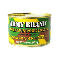 """Army Brand' Tushonka Officer Pork Loaf  425gr/24pc"
