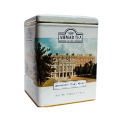 Aromatic Earl Grey 500gr/12pc  White Metal