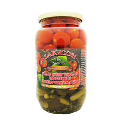 CHERRY TOMATO & BABY PICKLES MIX  1L/12pc