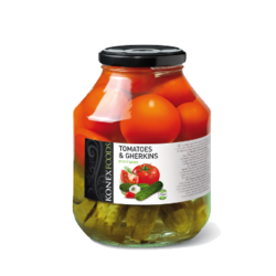 Assorty Pickles & Tomatoes  56oz/6pc
