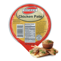 """STEINHAUSE"" Chicken Pate 4oz/10pc"