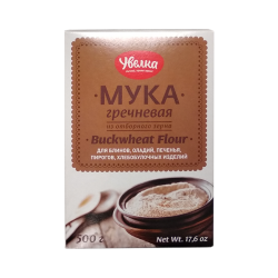 Buckwheat flour 500gr/6pc