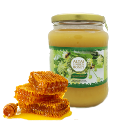 "ALTAI Organic -Natural Honey ""LINDEN""  2LB/9pc"