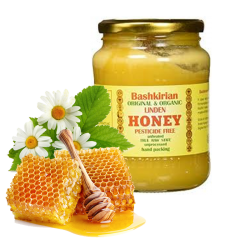 "Bashkirian Organic-Natural Honey ""LINDEN""  2LB"
