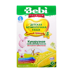 """BEBI"" CORN FLAKES LOWALLERGIC/PREBIOTIC 200G/9PC"