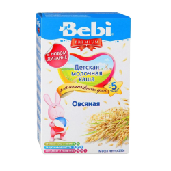 """BEBI"" OAT FLAKES 200G/9PC"