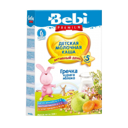 """BEBI"" BUCKWHEAT w/ APRICOT AND APPLE 200G/9PC"