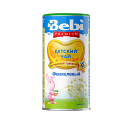 """BEBI"" TEA FENNEL 200G/24PC"