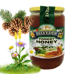 """BELVEDER"" FOREST HONEY 900G / 6PC"