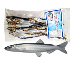 Dry Fish BALTIC HERRING (SALAKA) V/P ~7LB 20pc in BX