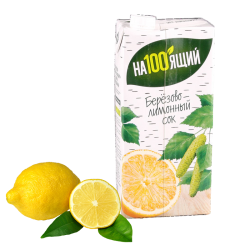 Birch Juice w/Lemon (Berezoviy)  0.95L/12pc