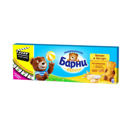 "Biscuit  ""Barny""  With Banana Flavor  150gr/20pc"