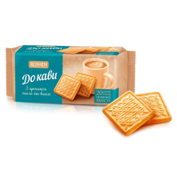 "Biscuit ""Do Kavi"" Butter  Vanilla 185gr/28pc"