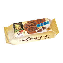 BISCUIT Roll milk chocolate 200gr/15pc