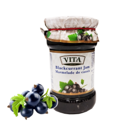 Blackcurrant Jam 370g/12pc