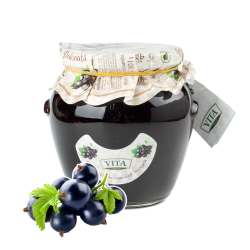 Blackcurrant Preserves  670gr/6pc