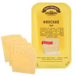 """BREST-LETOVSK"" FINSKIY CHEESE  45% 150GR/8PC"