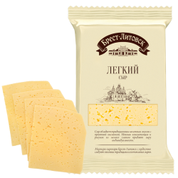 """BREST-LETOVSK"" LIGHT CHEESE  35% 150GR/8PC"