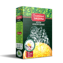 Corn groats 5X80 (400gr/10pc)