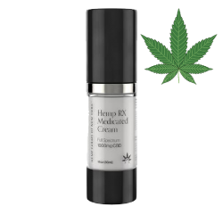 """CBD"" HEMP RX MEDICATED CREAM 1000MG 30ML/8PC"