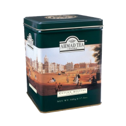 Ceylon Special w/Earl Gray  500gr/12pc Green Metal