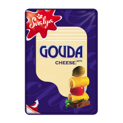 "Cheese ""Gauda"" Sliced 200gr/15pc"