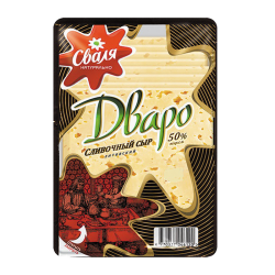 "Cheese ""Dvaro"" Sliced 200gr/15pc"