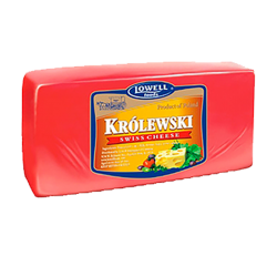 """LOWELL"" Cheese ""KROLEWSKI"" BLOCK *APX WEIGHT 7-8 LB"