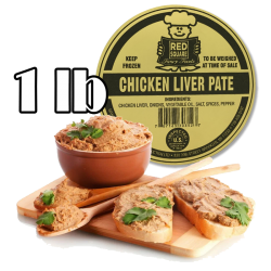 Chicken Liver Pate 1 lb/24pc in bx