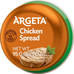 "Chicken Pate ""Argeta""  95gr/48pc"