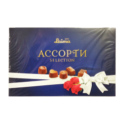 Chocolate assorted blue 190gr/14pc