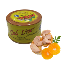 Cod liver 190gr/24pc