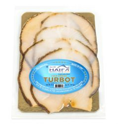 Cold Smoked Turbot (Paltus)  8oz