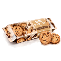 Cookies ESMERALDOA w/Chocolate chips 150gr/16pc