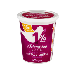 Cottage Cheese Whipped 1% 16 oz (SPECIAL ORDER 2-3 DAYS)