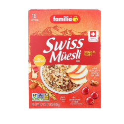 """Familia"" Original swiss muesli 2lb/6pc"