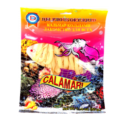 Dried Fish CALAMAR RINGS 50g/1.76oz/60pc