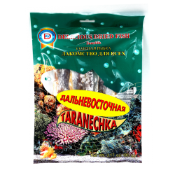 Dried Fish TARANECHKA DALNEVOSTOCHNAYA 90g/60pc