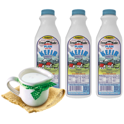 Kefir Plain 1lt/12pc