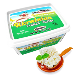 Ukrainian Farmer Cheese 16oz/12pc