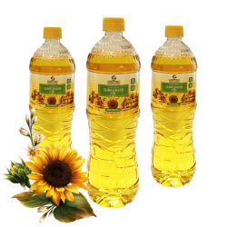 """Family Tree"" Sunflower Oil Unrefined  0.91L/15pc"
