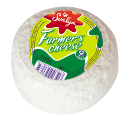 Farmer cheese Lituanian 9% FAT 300gr/6pc