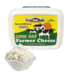 Farmer Cheese Low Fat 1lb/12pc