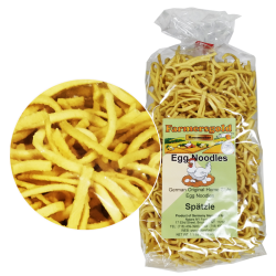 """FARMERSGOLD"" SPATZLE EGG NOODLES (KOSHER) 500G/10PC"