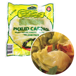 FERMENTED WHOLE CABBAGE PLASTIC BAG 10PC