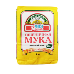 FLOUR WHEAT 1KG/12PC MOYA SEMYA