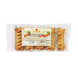 """Forrelli"" Apple Puff Pastry (Strudle)  5.3oz/20pc"