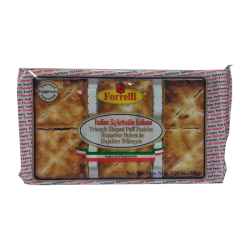 """Forrelli"" Triangle Puff Pastry  7.06oz/12pc"